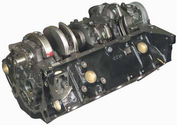 gm performance parts  zz small block partial shortblock engine