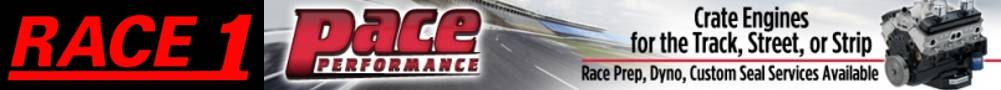 Race 1 Pace Banner