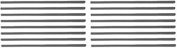 """Chevrolet Performance Parts - 12371041 - Small Block Chevy  Pushrod Kit, For Use With Factory Roller Lifters- Non Hardened- Use With Self Aligning Rocker Arms- 7.178"""" Long- Used In All GM Performance parts Roller Cammed Small Block's"""