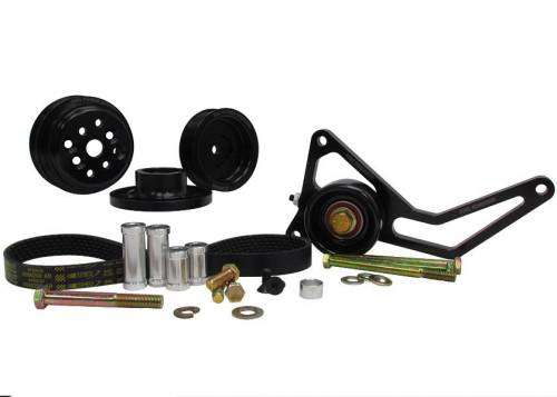 KRC Power Steering - KRC 37452000 Chevrolet 15% pro series water pump only drive kit with idler tensioner