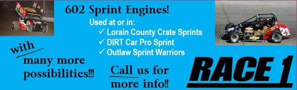 602 Sprint Engines!