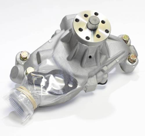 "Jones Racing Fans - High-Flow Aluminum Water Pump 3/4"" Shaft, HD Bearing, and Ceramic Seal"