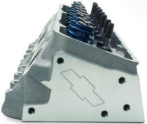 """Chevrolet Perormance Parts - 19300955 - Chevrolet Performance Small Block Chevy """"Fast Burn"""" Aluminum Cylinder Head - Complete (1 head)"""
