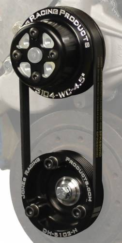 Jones Racing Fans - Crate Serpentine Drive Kit (includes spare belt)