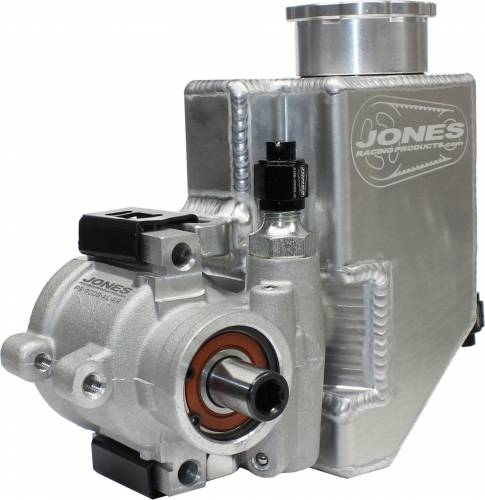 Jones Racing Fans - Jones Aluminum Power Steering Pump with Aluminum Tank