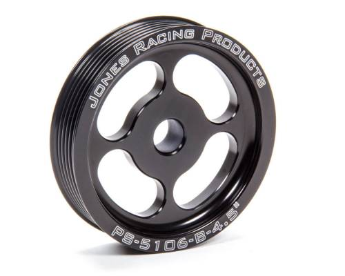 Jones Racing Fans - Jones Press Fit Serpentine Pulley for Crate Engines