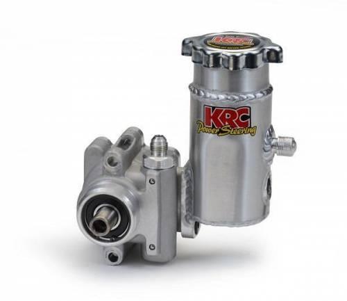 KRC Power Steering - Elite Series Aluminum Power Steering Pump with Aluminum Tank