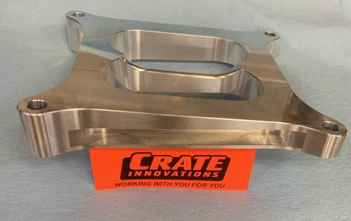 "Crate Innovations - CII-1004    602 Angled 1"" Circle Track Carb Spacer"