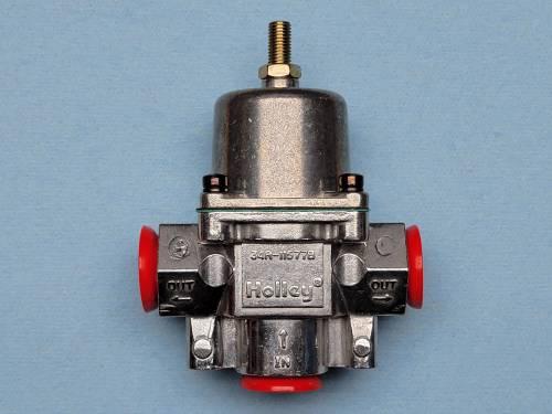 Holley - Holley 12-704 Dead Head Fuel Pressure Regulator