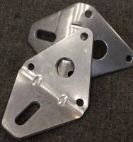 Crate Innovations - CII-80651 Dirt Late Model, Modified 602/604 Aluminum Motor Mount Brackets - Image 1