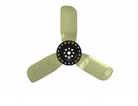 "Cooling Parts - Fans - RACE-FAN Racing Fans - RACE-FAN 17"" Three-Blade Fan"