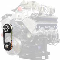Cooling Parts - Fans - Jones Racing Fans - Crate 6% HTD Drive Kit With Extra Heavy Duty Belt (includes spare belt)
