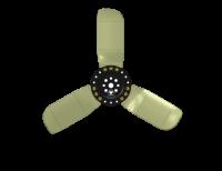 """Cooling Parts - Fans - RACE-FAN Racing Fans - RACE-FAN 15"""" Three-Blade Fan"""