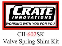 CII-602SK  Crate Innovations 602 Valve Spring Shim Kit